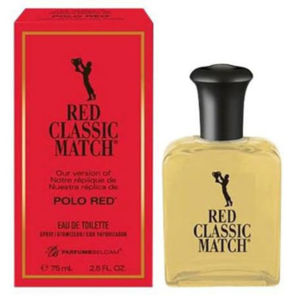 Delgar Classic Match Polo Red Edition