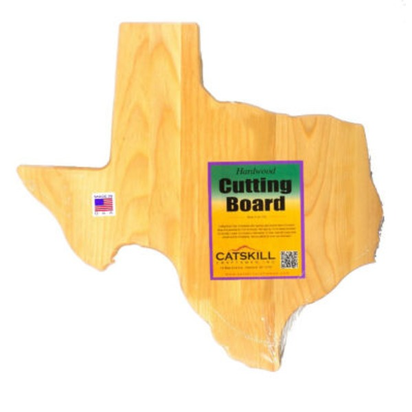Catskill Craftsmen Texas Shaped Hardwood Cutting Board