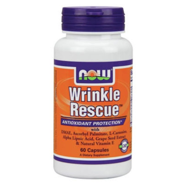 Now Wrinkle Rescue Dietary Supplement Capsules