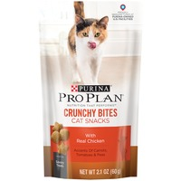 Pro Plan Cat Treats Crunchy Bites with Real Chicken Cat Snacks