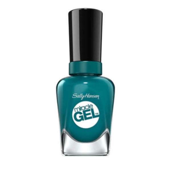 Sally Hansen Miracle Gel Color, Fish Teal Braid