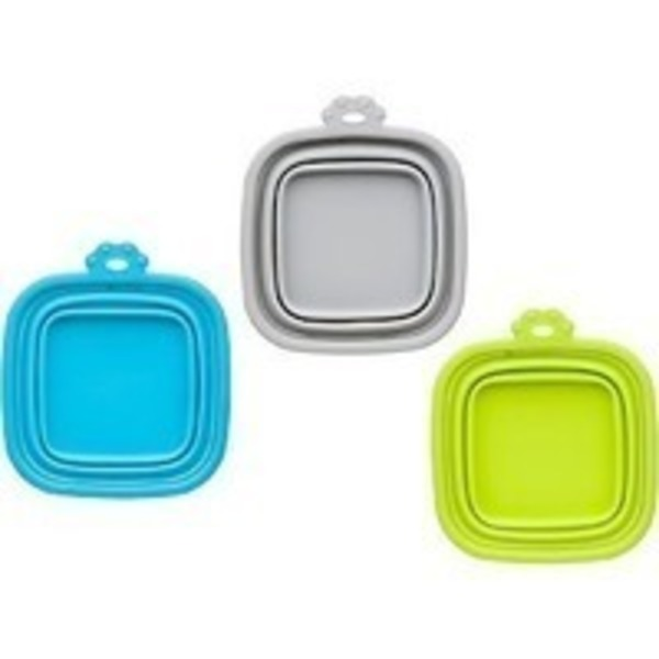 Good2 Go Collapsible Silicone Pet Travel Bowl 5.25