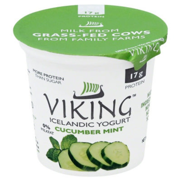 Viking Cucumber Mint Icelandic Yogurt