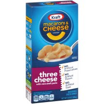 Kraft Three Cheese Macaroni & Cheese Dinner 7.25 oz. Box