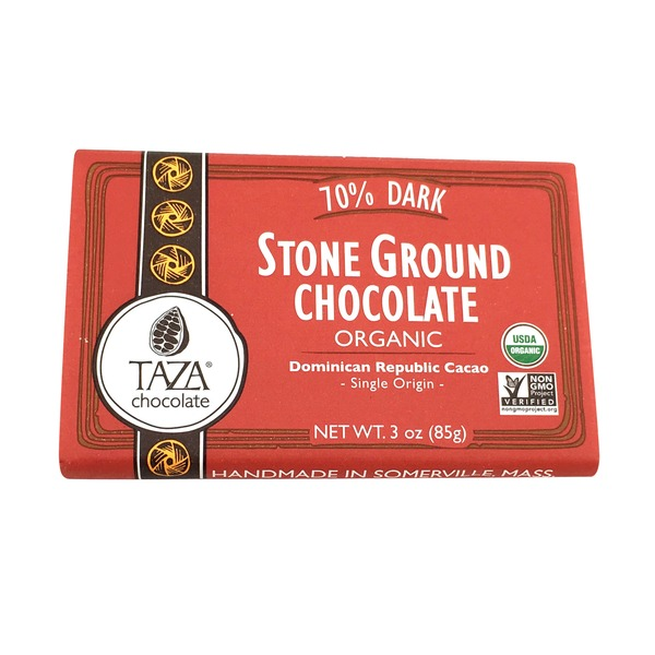 Taza Chocolate 70% Dark Organic Stone Ground Chocolate