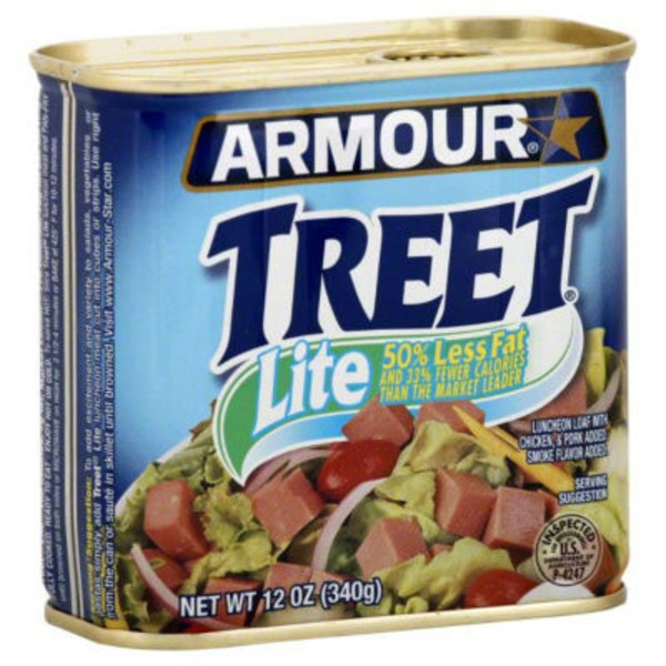 Armour Treet Lite 50% Less Fat Luncheon Loaf