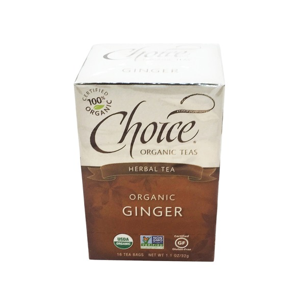 Choice Organic Teas Ginger Tea