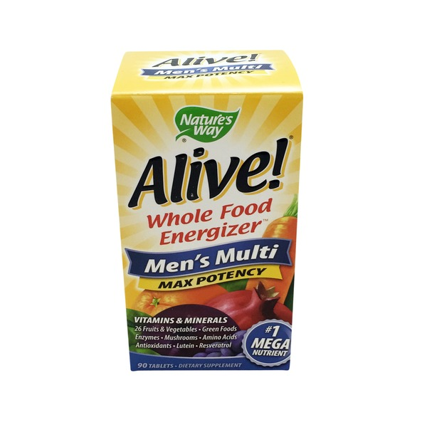 Nature's Way Alive! Mens Multi Vitamin