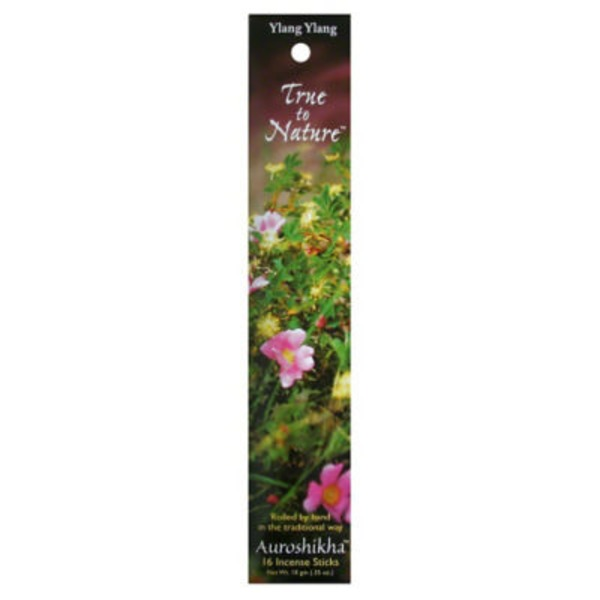 Auroshikhan True to Nature Ylang Ylang Incense
