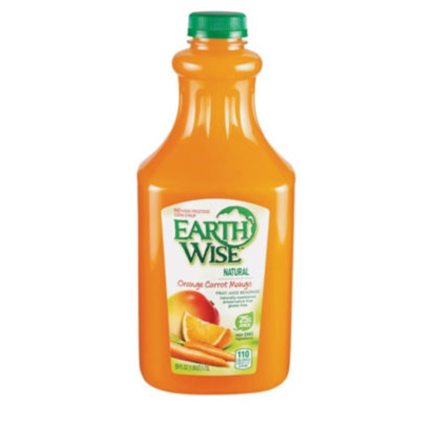 Earth Wise Orange Carrot Mango Fruit Juice Beverage