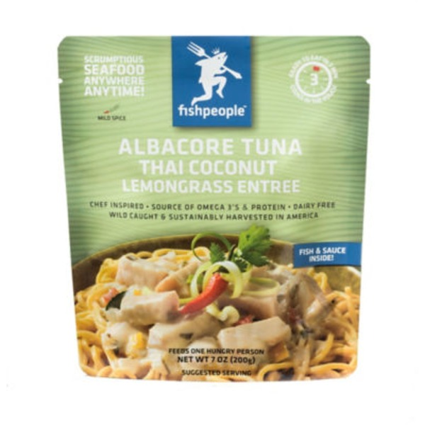 Fish People Albacore Tuna in Thai Coconut Lemongrass