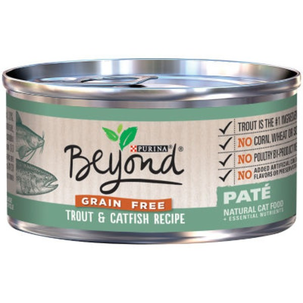 Purina Beyond Cat Wet Grain Free Trout & Catfish Recipe Cat Food