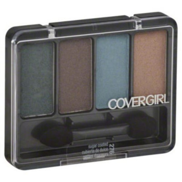 CoverGirl Eye Enhancer COVERGIRL Eye Enhancers 4-Kit Eye Shadow, Sugar Coated .19 oz (5.5 g) Female Cosmetics