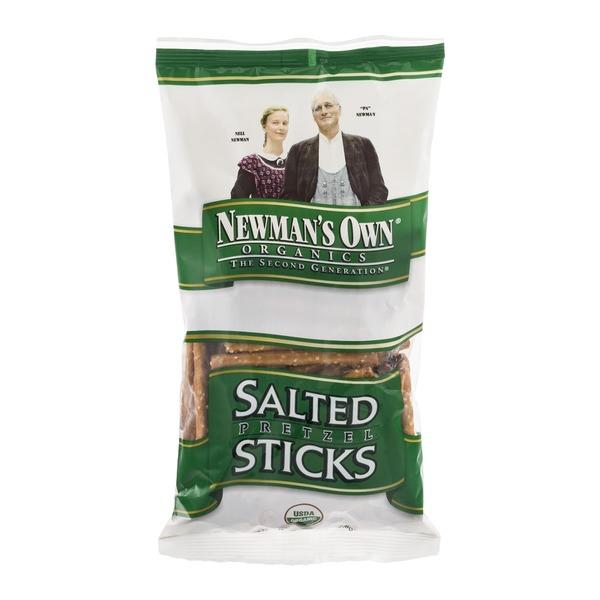 Newman's Own Salted Pretzel Sticks