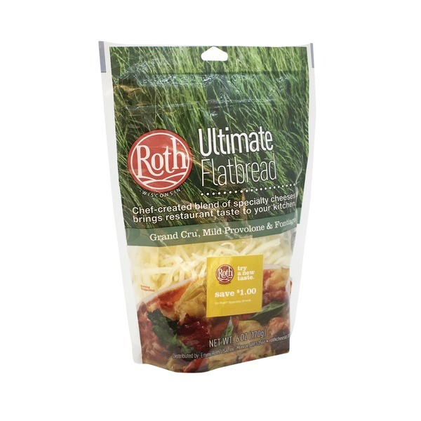 Roth Ultimate Flatbread Shredded Cheese Blend