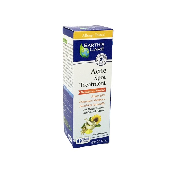 Earth's Care Acne Spot Treatment Max Strength