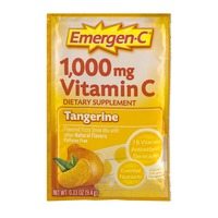 Emergen-C 1,000 mg Vitamin C Dietary Supplement Tangerine Fizzy Drink Mix Packet