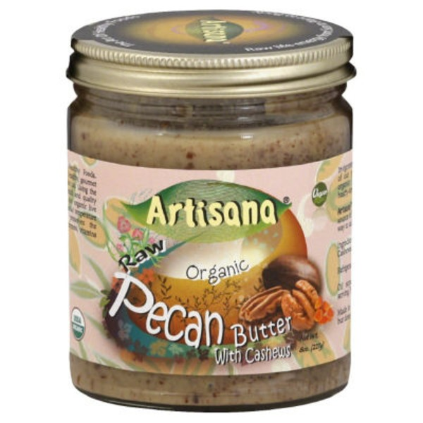 Artisana Organics Raw Pecan Nut Butter With Cashews