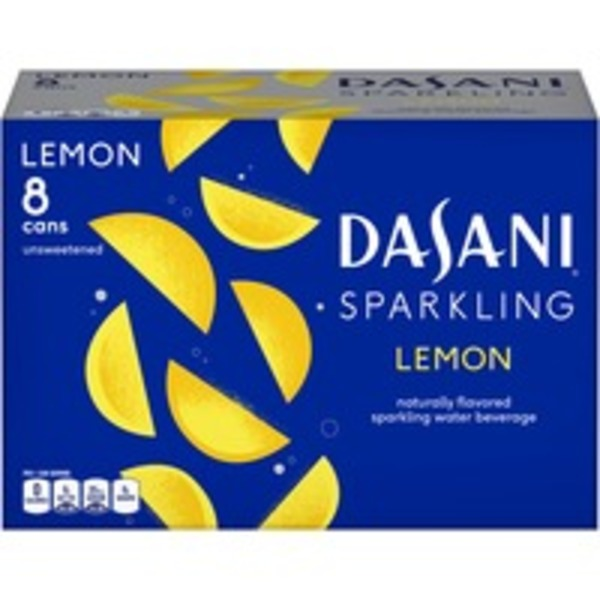 Dasani Sparkling Lemon Water Beverage