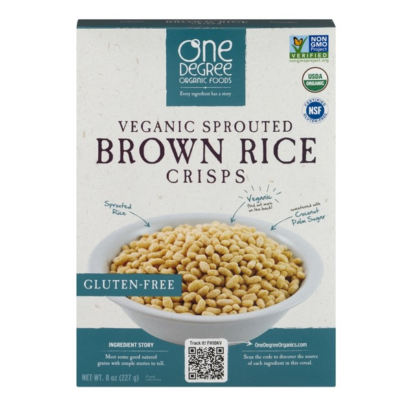 One Degree Organics Brown Rice Crisps