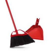 O-Cedar Fast 'N Easy Broom with Dust Pan