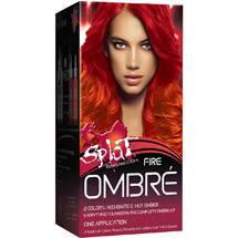 Splat Fire Ombre