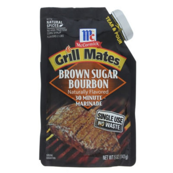McCormick Grill Mates Brown Sugar Bourbon 30 Minute Marinade