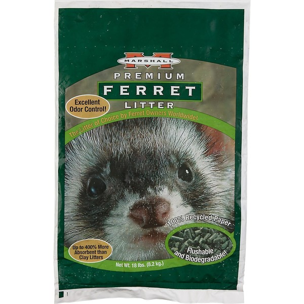 Marshall Premium Ferret Litter 100% Recycled Paper