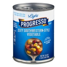 Progresso™ Light Zesty! Southwestern Style Vegetable Soup 18.5 oz Can, 18.5 OZ