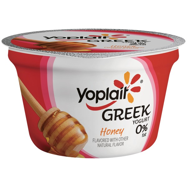 Yoplait Greek Honey Fat Free Yogurt
