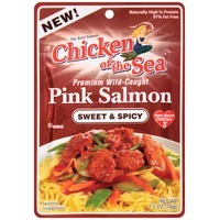 Chicken of the Sea Premium Wild-Caught Sweet & Spicy Pink Salmon