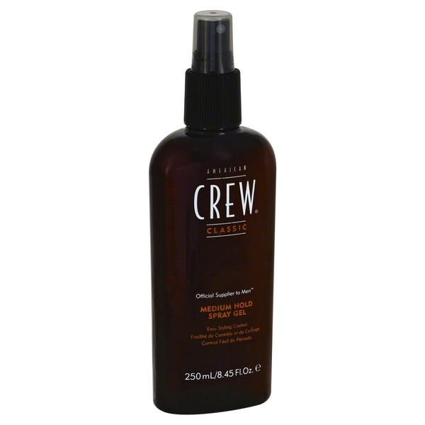 American Crew Spray Gel, Medium Hold, Bottle