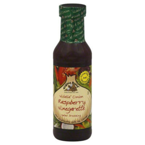 Virginia Brand Vidalia Onion Raspberry Salad Dressing