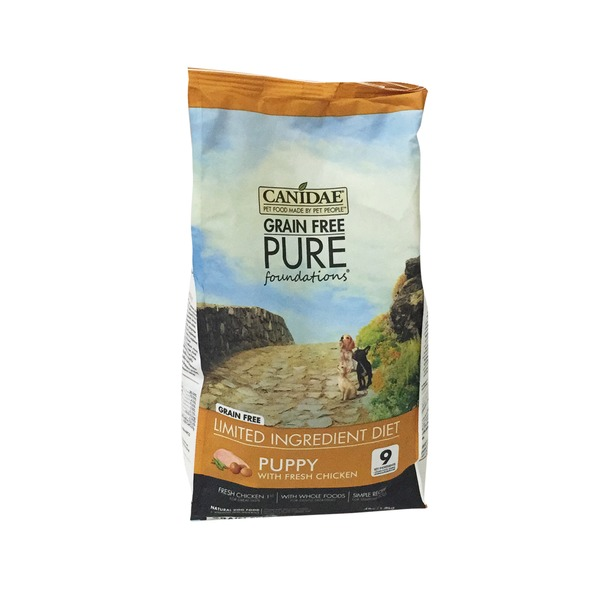 Canidae Grain Free Pure Foundations Limited Ingredient Diet Puppy With Fresh Chicken Natural Dog Food