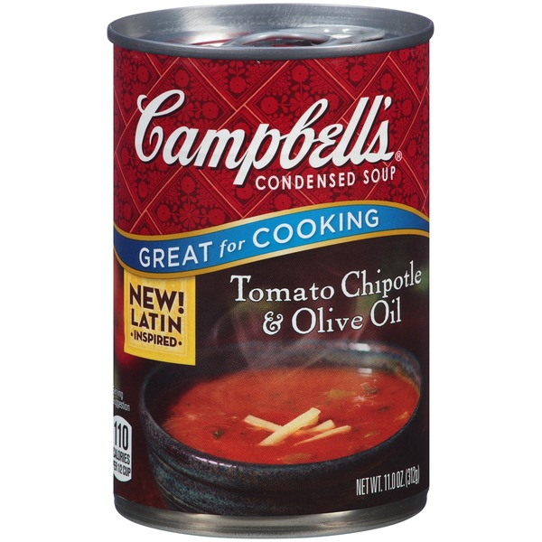 Campbell's Tomato Chipotle & Olive Oil Condensed Soup