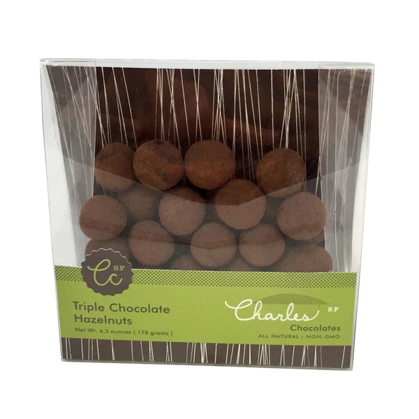 Charles Chocolates Triple Chocolate Hazelnuts