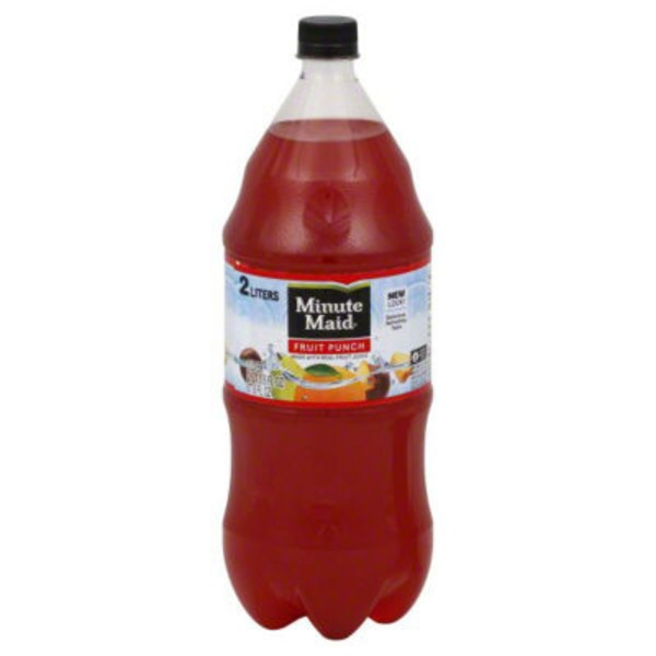 Minute Maid Contour Fruit Punch