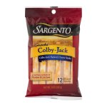 Sargento Snacks Colby-Jack Natural Cheese Sticks - 12 CT
