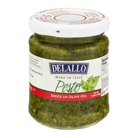 DeLallo Simply Pesto Traditional Basil