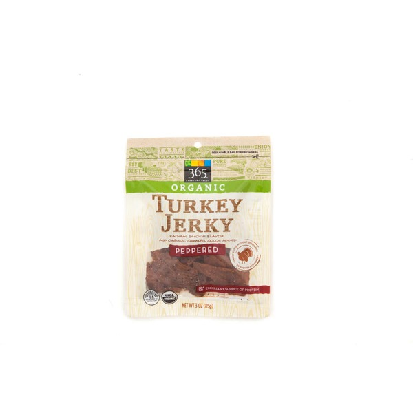 365 Organic Peppered Turkey Jerky