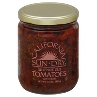 California Sun Dry Sun Dried Tomatoes, Julienne Cut with Herbs