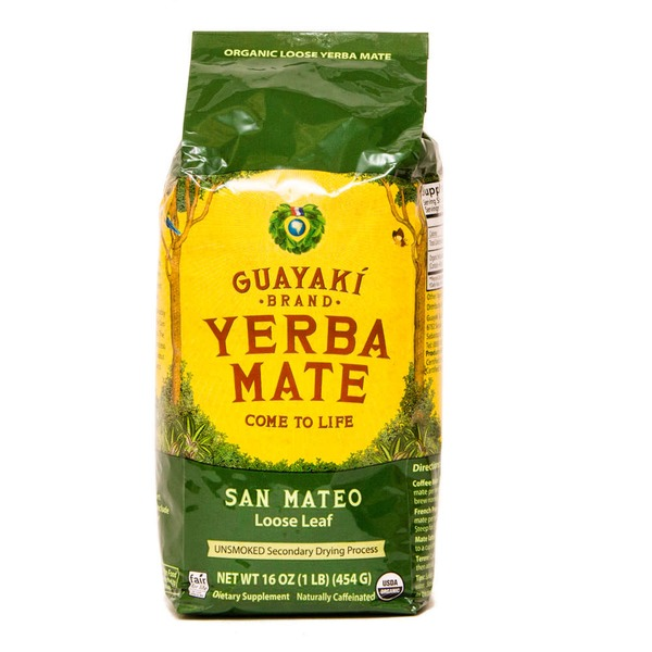 Guayaki Yerba Mate Come To Life San Mateo Loose Leaf