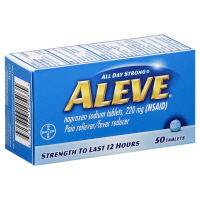 Aleve Naproxen Sodium Tablets