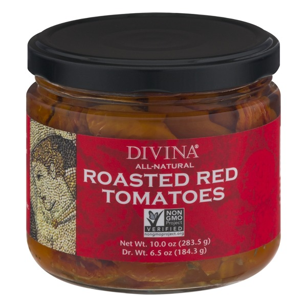 Divina All-Natural Roasted Red Tomatoes
