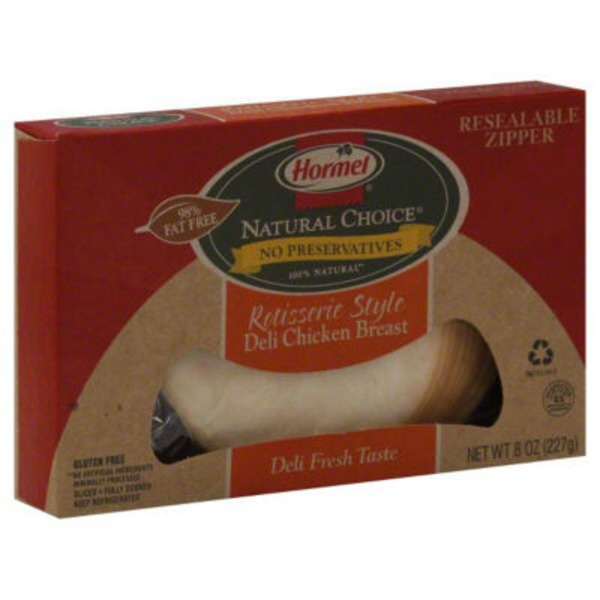 Hormel Natural Choice Rotisserie Style Deli Chicken Breast