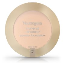 Neutrogena Mineral Sheers Compact Powder Foundation Spf 20, Natural Ivory 20, .34 Oz.