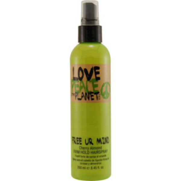 Tigi Love Peace & The Planet Free Ur Mind Cherry Almond Hair Spray