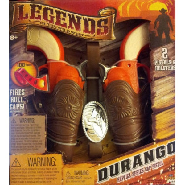 Imperial Toy Durango 2 Holster Pistol Set