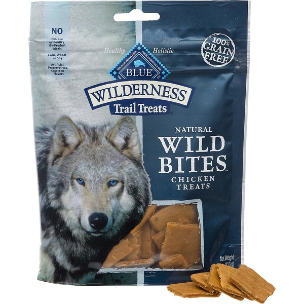 Blue Buffalo Wilderness Trail Treats Natural Wild Bites Chicken Treats