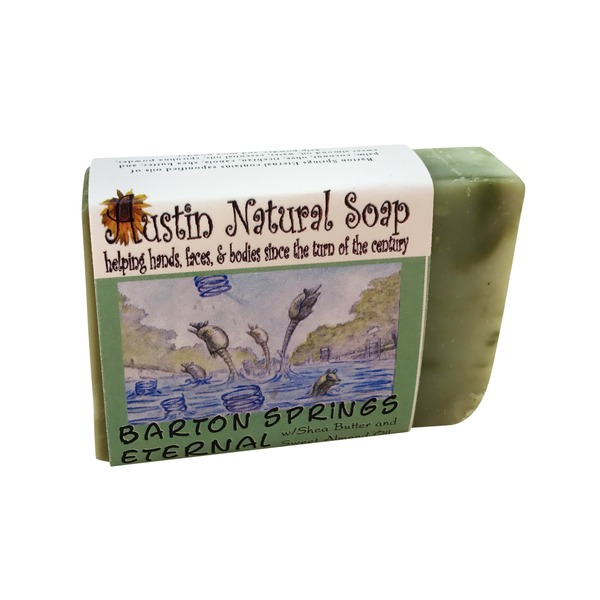 Austin Natural Soap Barton Springs Eternal Soap